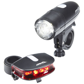 Red Cycling Products Bright LED Light Zestaw oświetlenia czarny